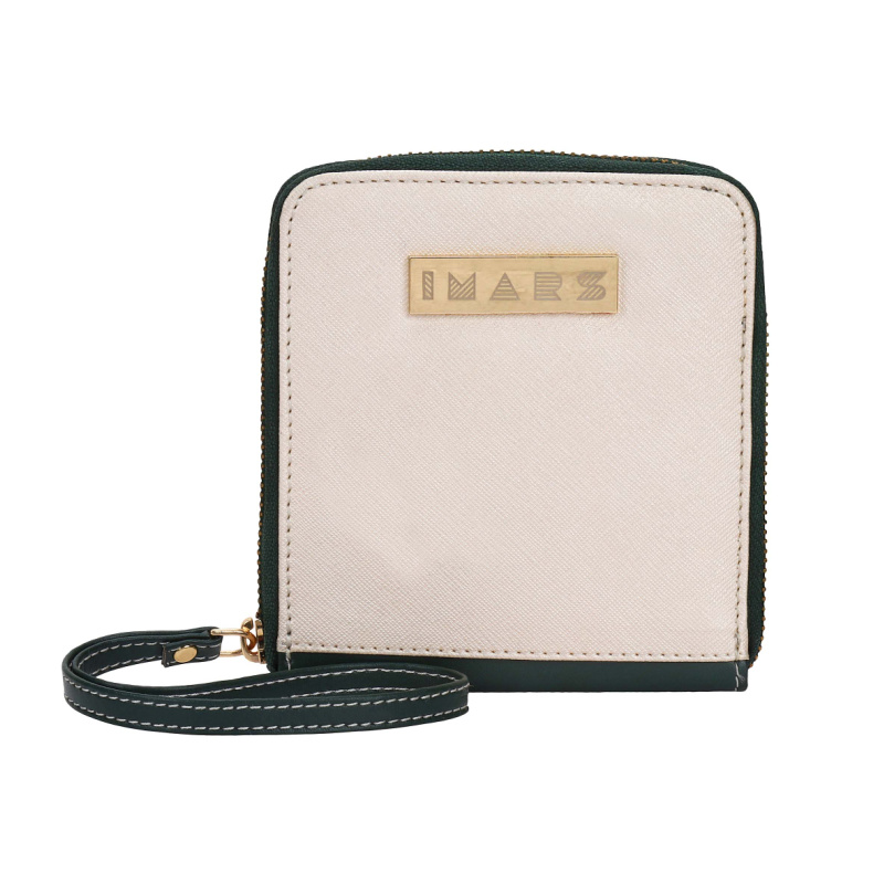 IMARS ESSENTIAL ZIPPED WRISTLET FOR WOMEN (GREEN)